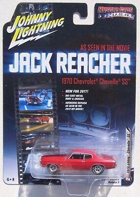 Johnny Lightning Silver Screen Jack Reacher 1970 Chevy Chevelle Ss 454  2
