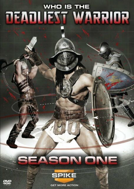 DEADLIEST WARRIOR : SEASON ONE  (DVD) Region 1 sealed