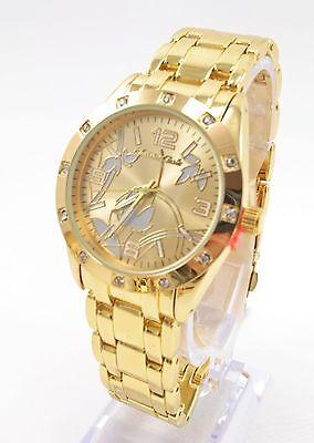 Women's Gold Plated Costume Wrist Watch #RL7