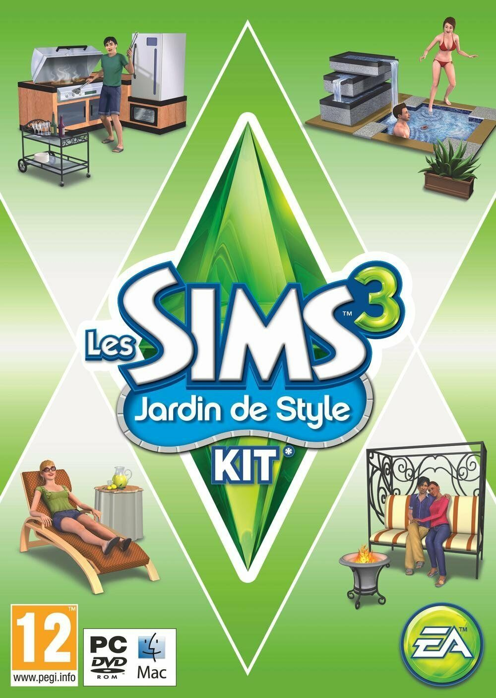 Electronic Arts The Sims 3 Outdoor Living Stuff Expansion...