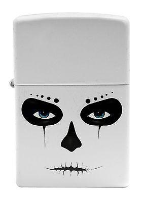 Zippo Windproof Lighter With Alien, Skull Mask, 28828, New In Box