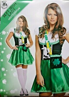 ST PATRICK'S DAY, IRISH LADY COSTUME. - St Patrick Day Costumes