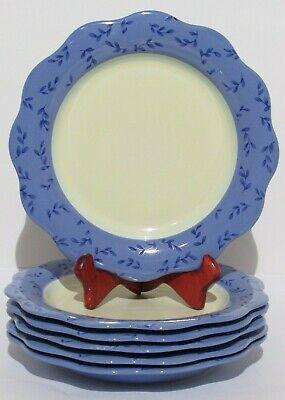 "Pfaltzgraff  Summer Breeze 9"" Lunch Plates  Set of 6"