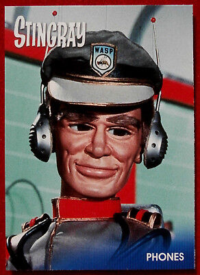 STINGRAY - PHONES - Card #44 - Gerry Anderson Collection