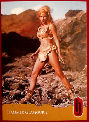 HAMMER HORROR GLAMOUR - Card C2-S2 - Raquel Welch - Strictly Ink 2010