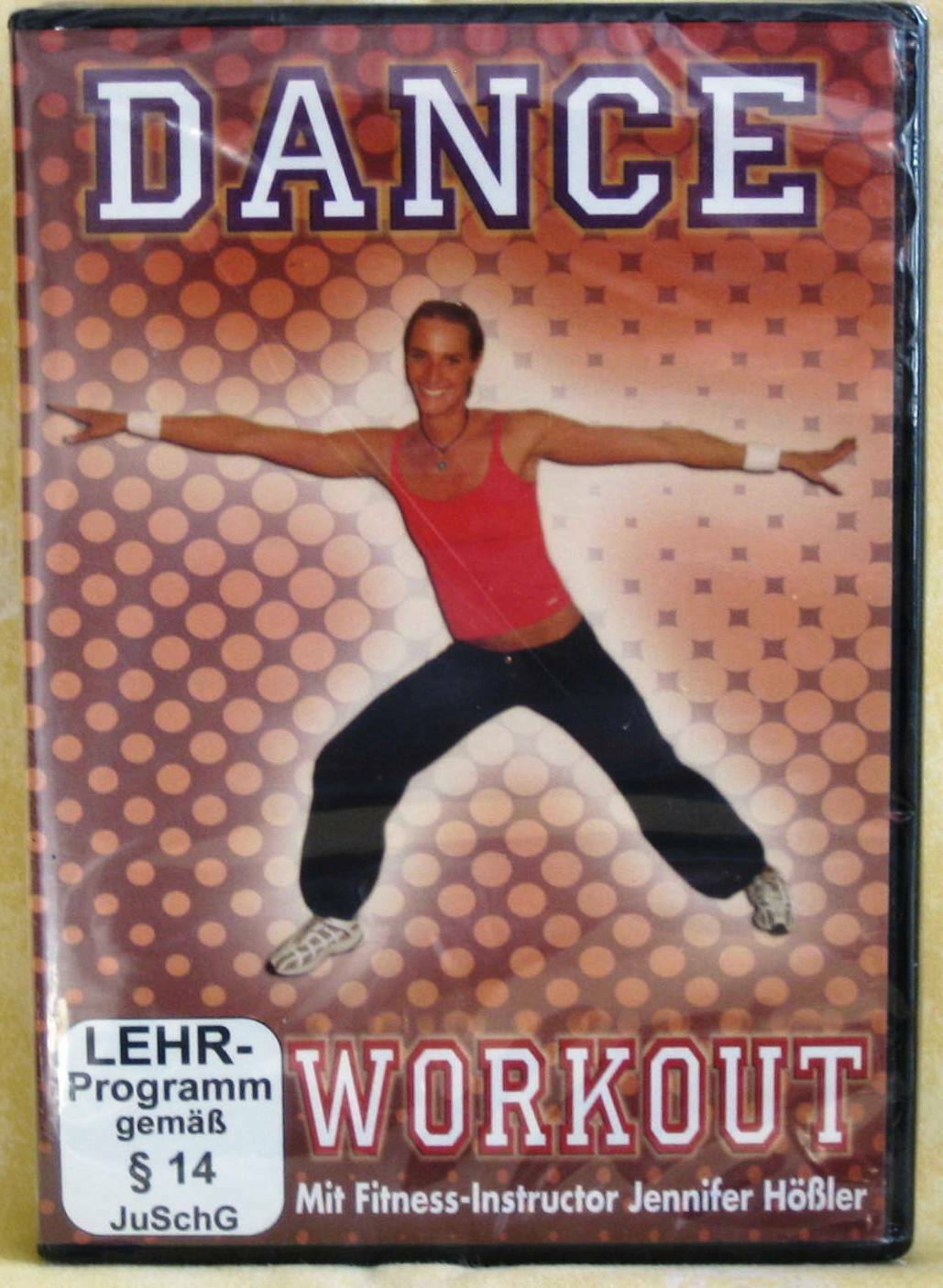 FITNESS TANZ DVD - DAS DANCE WORKOUT - FIT & FUN - NEU
