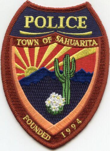 SAHUARITA ARIZONA AZ POLICE PATCH