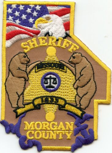 MORGAN COUNTY MISSOURI MO SHERIFF POLICE PATCH