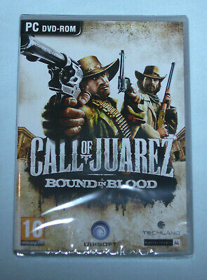 CALL OF JUAREZ BOUND IN BLOOD PC DVD-ROM New & Sealed
