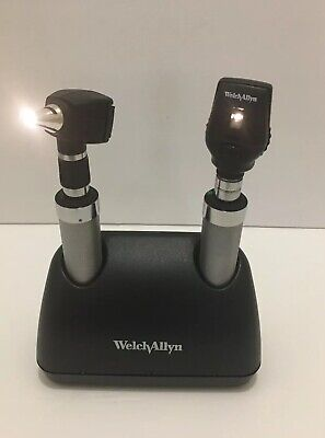 Welch Allyn 7114x Universal Charger W 71670 Handles With Headsbatteries Inc