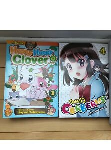 Today's Cerberus and Happy Happy Clover