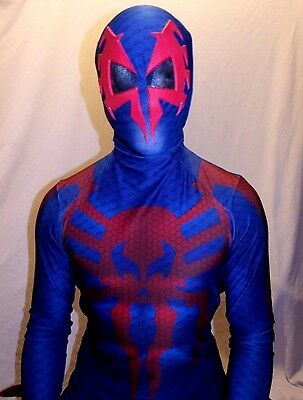 New Spider-Man 2099 3D Printing With Muscle Shading - Spiderman 2099 Costume