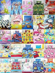Childrens-Novelty-TV-Character-bedding-single-duvet-set-disney-other-prints