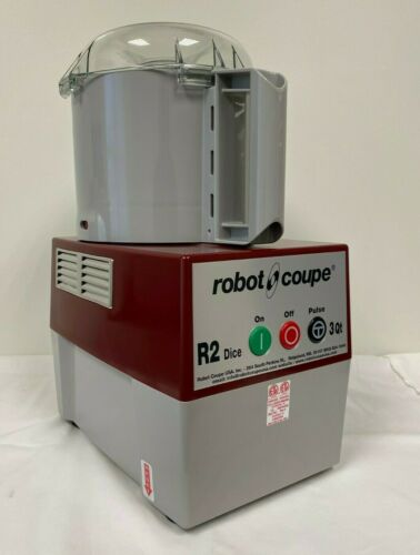 Robot Coupe R2 Dice Commercial Grade Food Processor