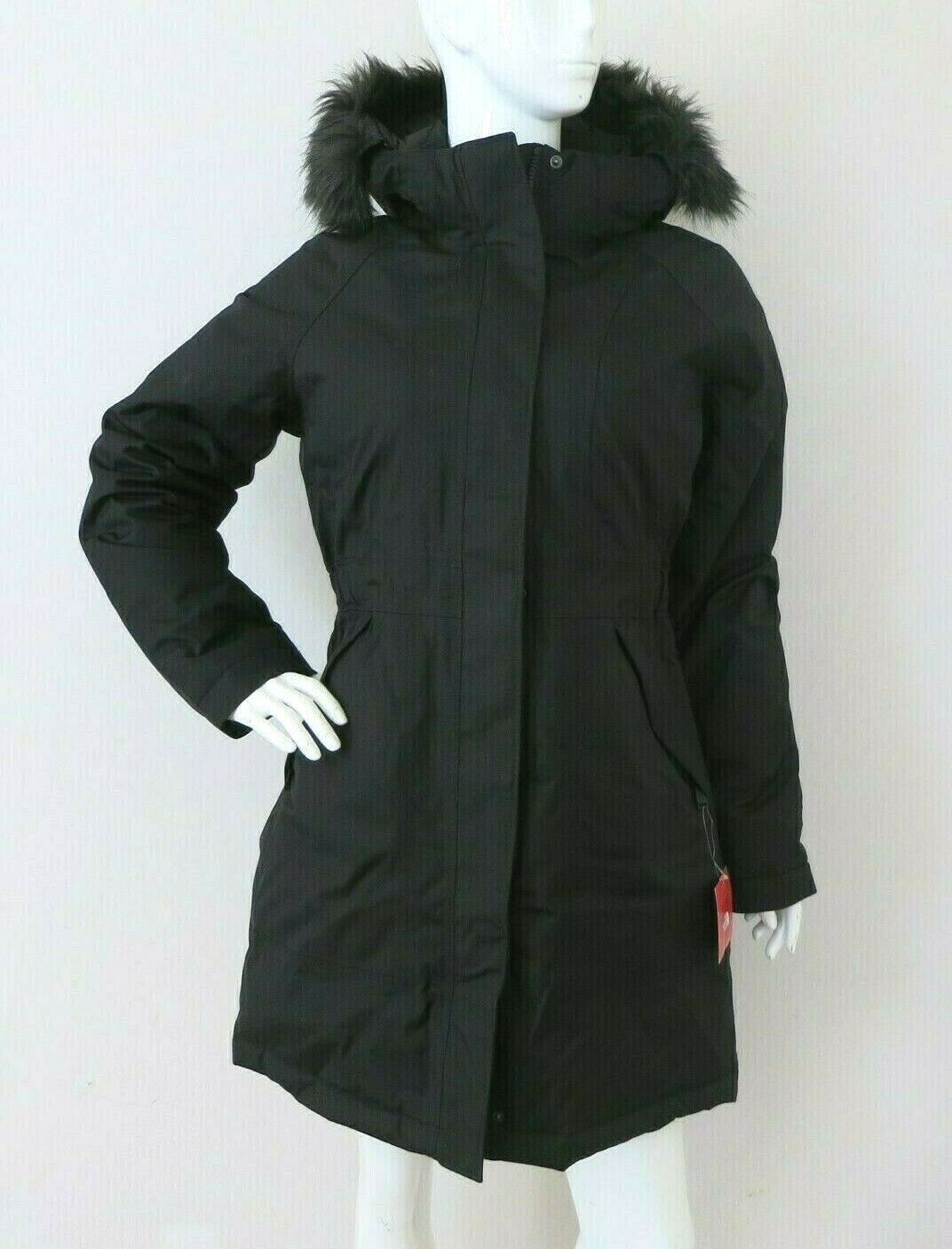 THE NORTH FACE Women's Arctic Parka Down Coat TNF Black sz S