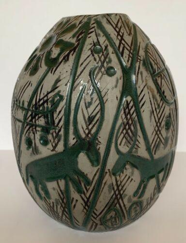 Hedenhös Vase 4305 Mari Simmulson Upsala-Ekeby Swedish Ceramic Scandinavian