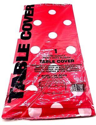 Polka Dot Minnie Mickey Mouse Plastic Table cover Birthday Party Decoration](Polka Dot Decorations Birthday)