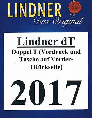 LINDNER dT (doppelT) NACHTRAG DEUTSCHLAND 2017 BUNDESREPUBLIK BUND VORDRUCK