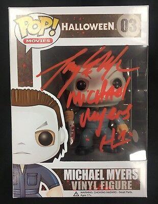 Tony Moran Autographed Signed Michael Myers Halloween Funko Pop - Halloween Tony Moran