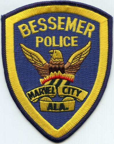 BESSEMER ALABAMA AL Marvel City POLICE PATCH