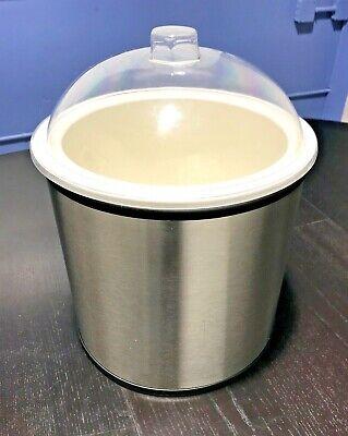 Set Of Carlisle 38655 Coldmaster Ice Cream Shroud Cm101202 Cold Crock Lid