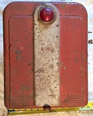 Vintage Battery Powered Electric Fence Charger Art Deco Steampunk Look