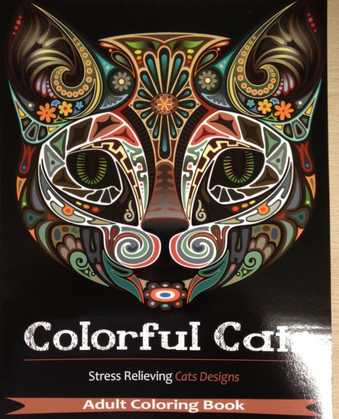 Купить Colorful Cats: Adult Coloring Book 30 Stress Relieving Cats Designs FUN Art Meow