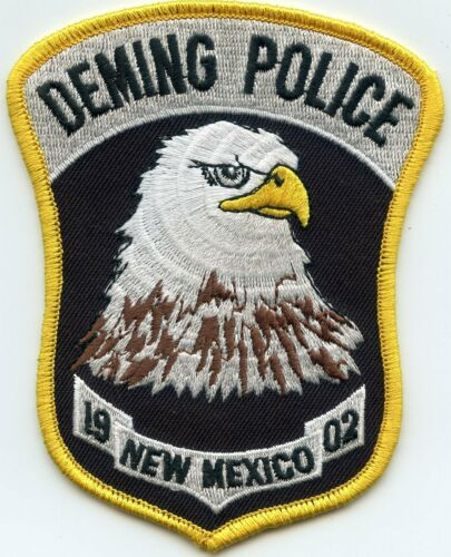DEMING NEW MEXICO NM POLICE PATCH