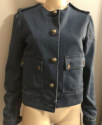 Lanvin Acne Denim Jacket sz FR 38 US 6