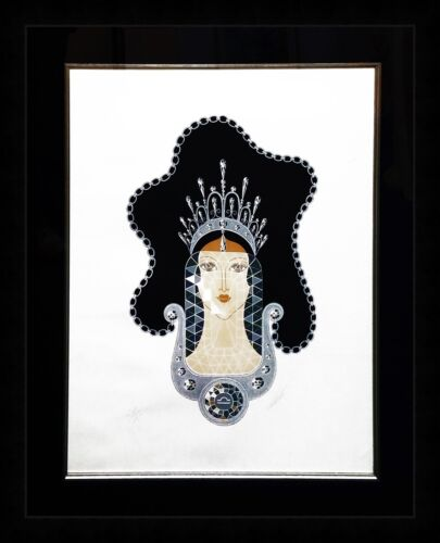 "Erte ""diamond"" 1969 