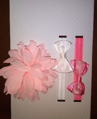 Baby Hair Accessories 3 Pcs set for sale  Shipping to India