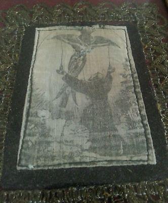 orig.um 1800 HEILIGEN-ERSCHEINUNG kapuziner SKAPULIER franziskus von Assisi