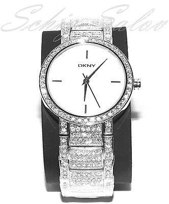 DKNY NY8054 Damenuhr Damen Armbanduhr Silber Neu & OVP