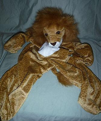 Wal-Mart Lion Small 2-3 Child's Costume Plush Soft Toy Stuffed Dress Up