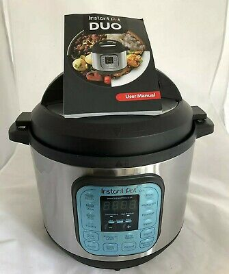 Instant Pot 80 Duo 8L Electric Multi Function Pressure Cooker 7 in 1