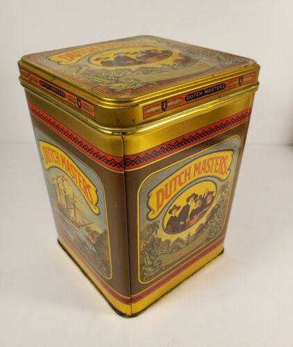 DUTCH MASTERS Collectible Cigar Tobacco Tin (Consolidated Cigar Co New York)