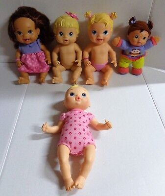 Hasbro Baby Alive Doll Lot of 5 First Teeth Luv N Snuggle Yummy Treats Rattle for sale  Ocala