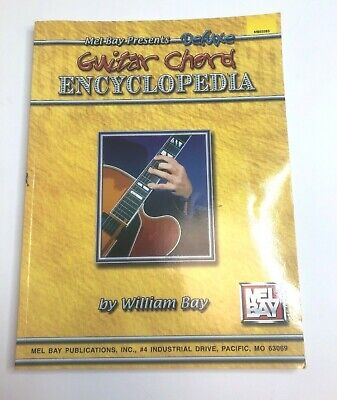 Pocketbook Deluxe Series Bass Guitar Chords Chord Book by William Bay NEW UNUSED