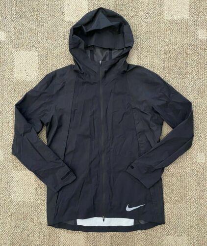 Nike Zonal Aeroshield Mens Athletic Running Jacket Black Size Medium 928481-010