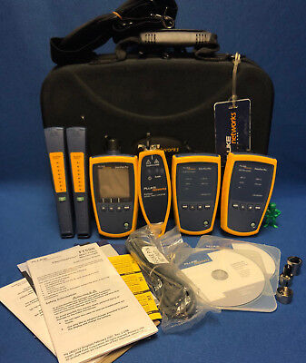 Fluke Networks Simplifiber Pro Single Multimode Fiber Verification Kit