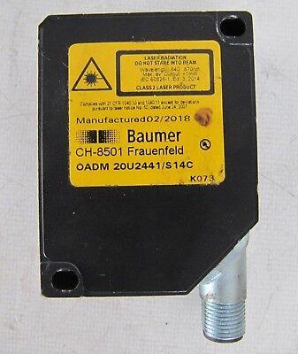 Baumer Electric Laser Distance Sensor Oadm 20u2441s14c