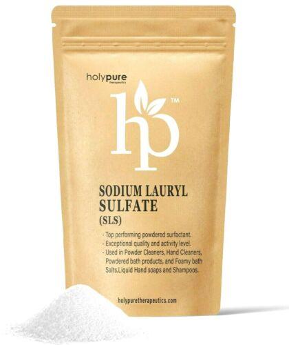 Sodium Lauryl Sulfate SLS by Holypure : Premium Quality! 4oz 8oz 1LB 2LB 3LB 4LB
