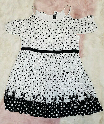 Torrid Plus Size Disney Minnie Mouse Black & White Polka Dot Tulip Skater Dress](Plus Size Minnie Mouse Dress)