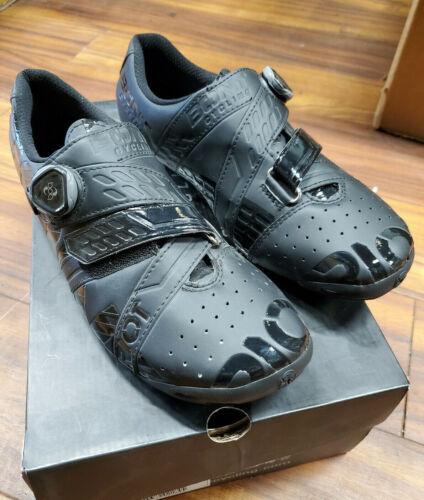 BONT Riot Road+ BOA Cycling Shoe: Black, (Sizes EU 43 / 44.5 / 46)
