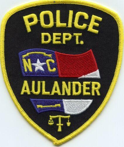 AULANDER NORTH CAROLINA NC State Flag POLICE PATCH