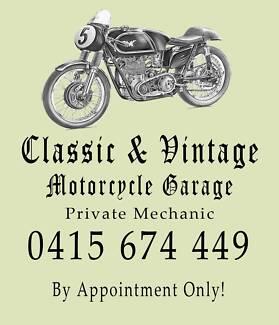 Classic & Vintage Motorcycle Garage