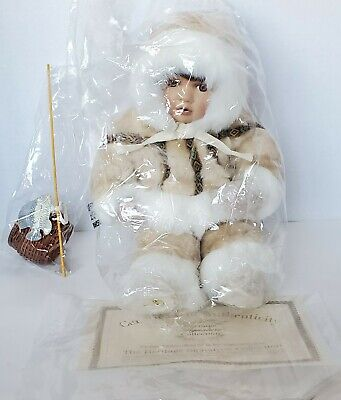 Heritage Signature Collection Porcelain Doll Eskimo #12246 - NIB w/ Certificate