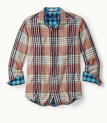 NWT Mens Tommy Bahama Parana Plaid shirt size XL image