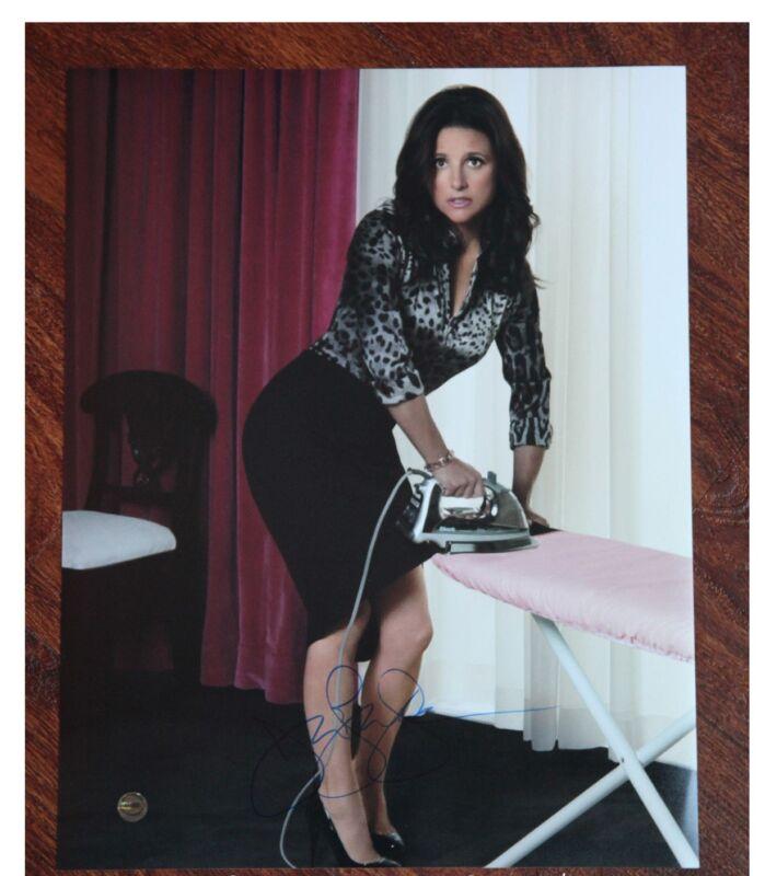 GFA hbo Veep Selina  * JULIA LOUIS-DREYFUS * Signed 11x14 Photo MH1 COA