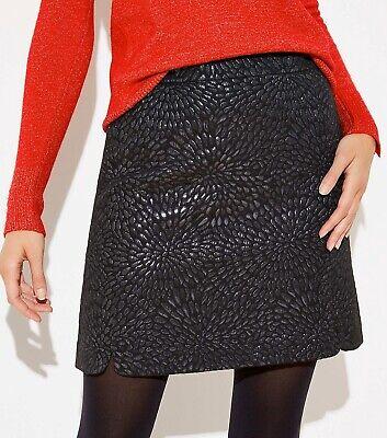 Women In Tutus (LOFT Shimmer Jacquard Shift In Black Skirt Size 4)